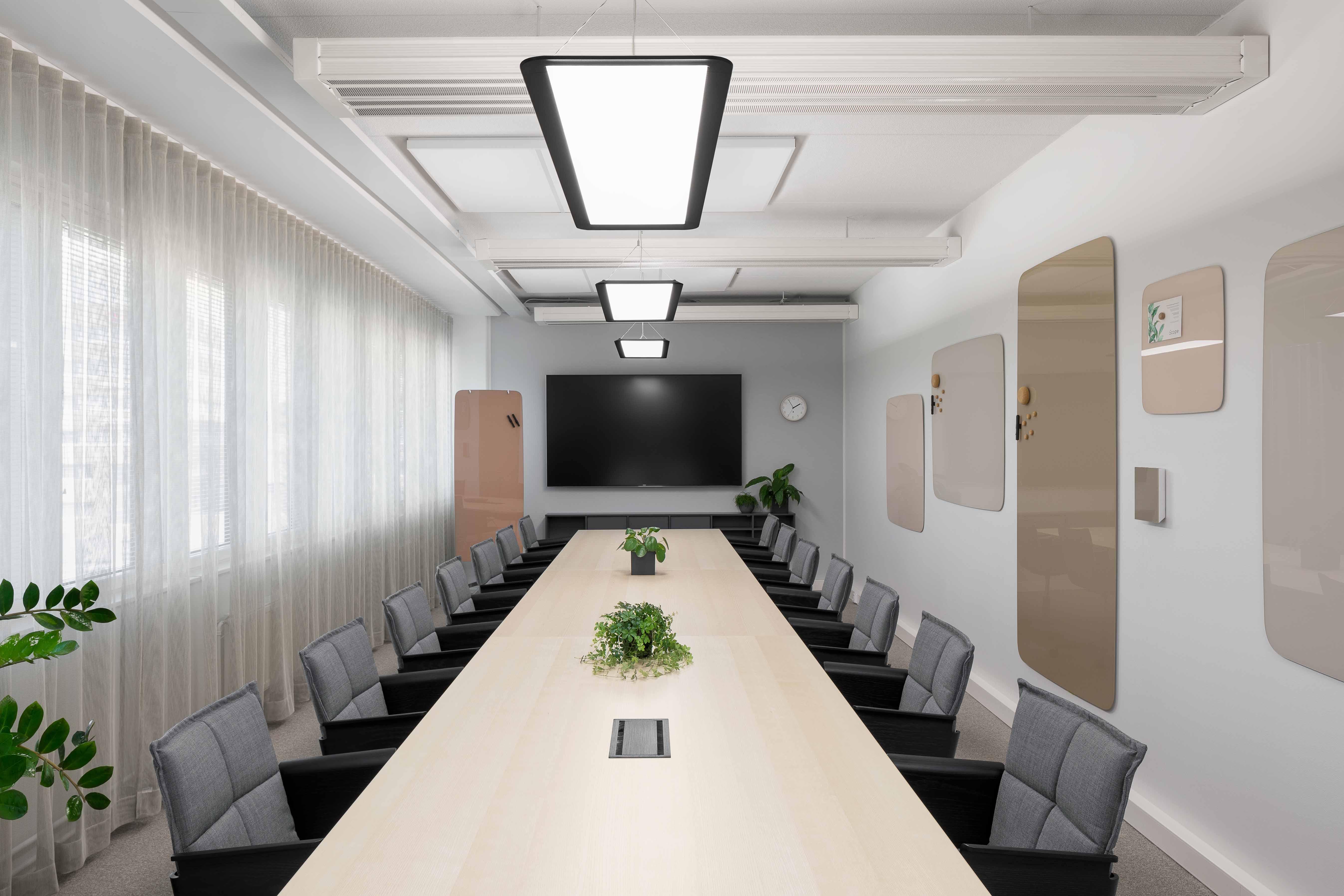 Sumitomo neuvotteluhuone 2 - Scope Design